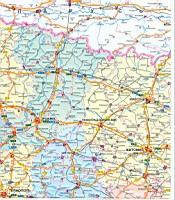 Карта украины карта киевской области