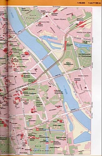 данном разделе карта варшавы с улицами и районами использование таких средств