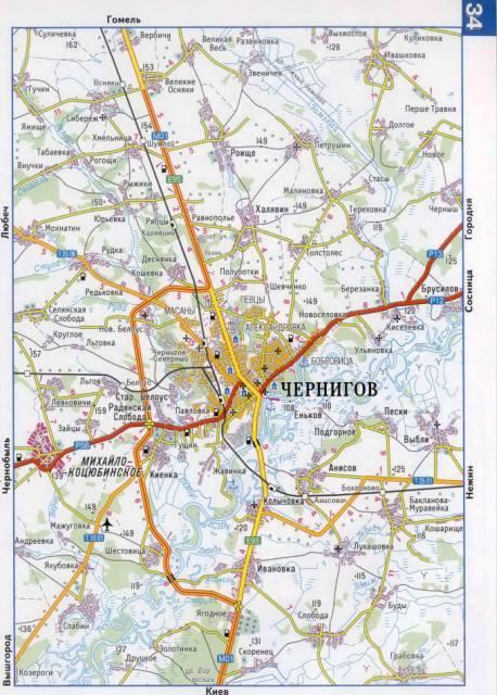И окрестностей подробная карта