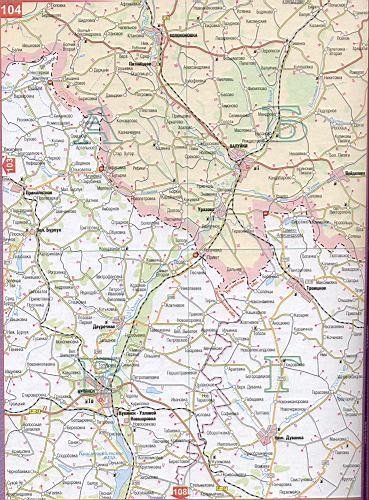 Карта Луцка Спутниковая