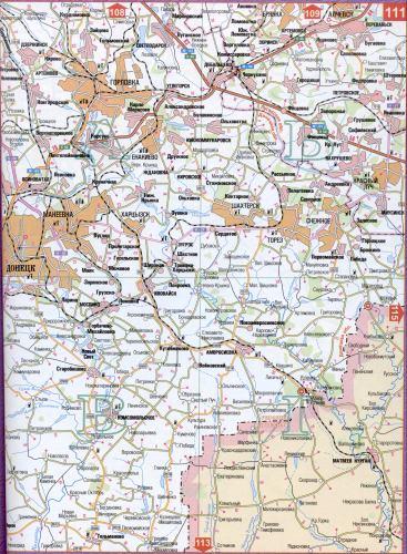 скачать бесплатно карту донецкой области