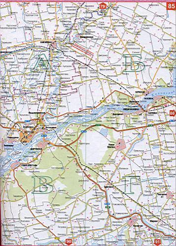 Карта Херсонской области Украины (областной центр г.Херсон ...: http://map1.com.ua/126626.html