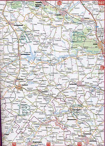 Карта Харьковской области Украины (областной центр г ...: http://map1.com.ua/127996.html