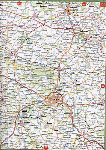 Карта Винницкой области Украины. Подробная карта масштаба ...: http://map1.com.ua/129898.html