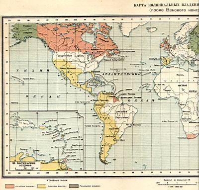1815 год политическая карта мира карта