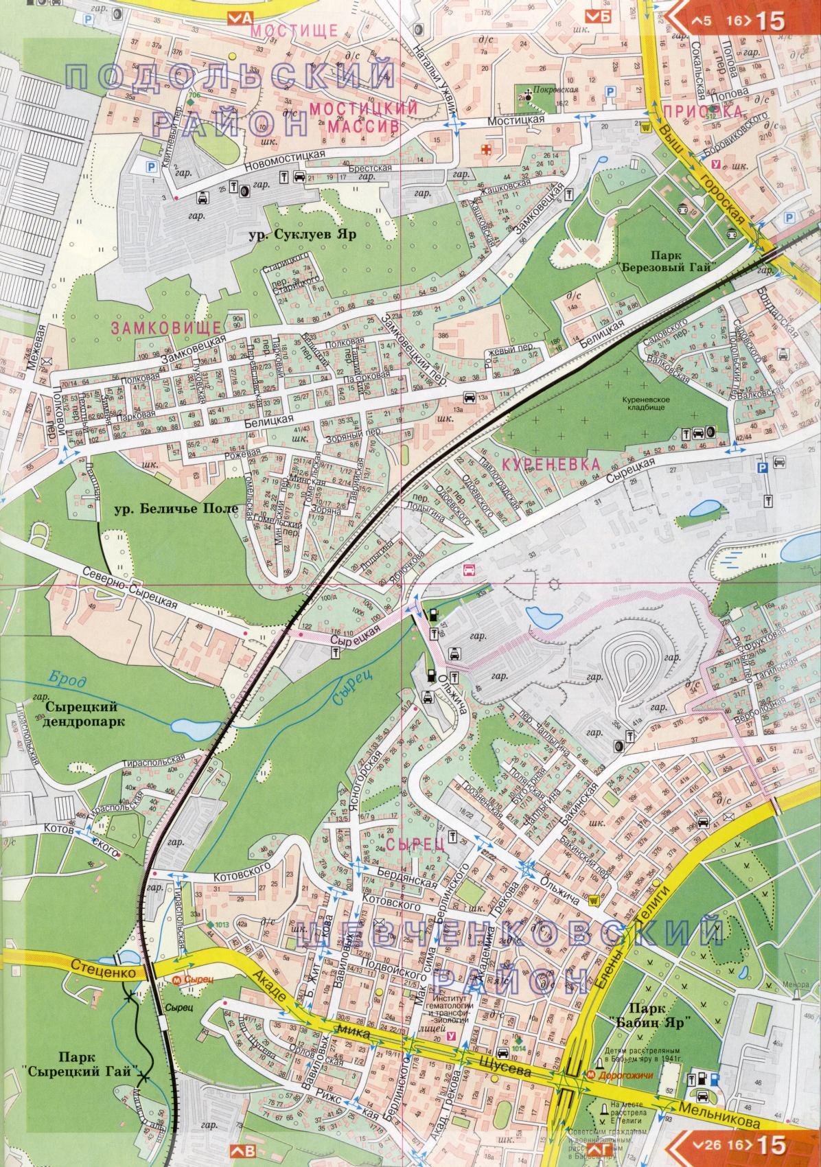 Карта киева подробная карта улиц