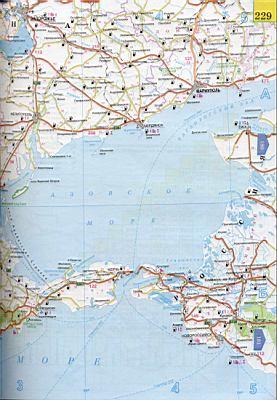 Карта азовского моря карта побережья