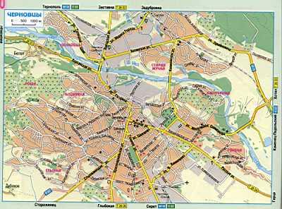 Карта Черновцы. Карта города черновцы с названиями улиц и ...: http://map1.com.ua/91833.html