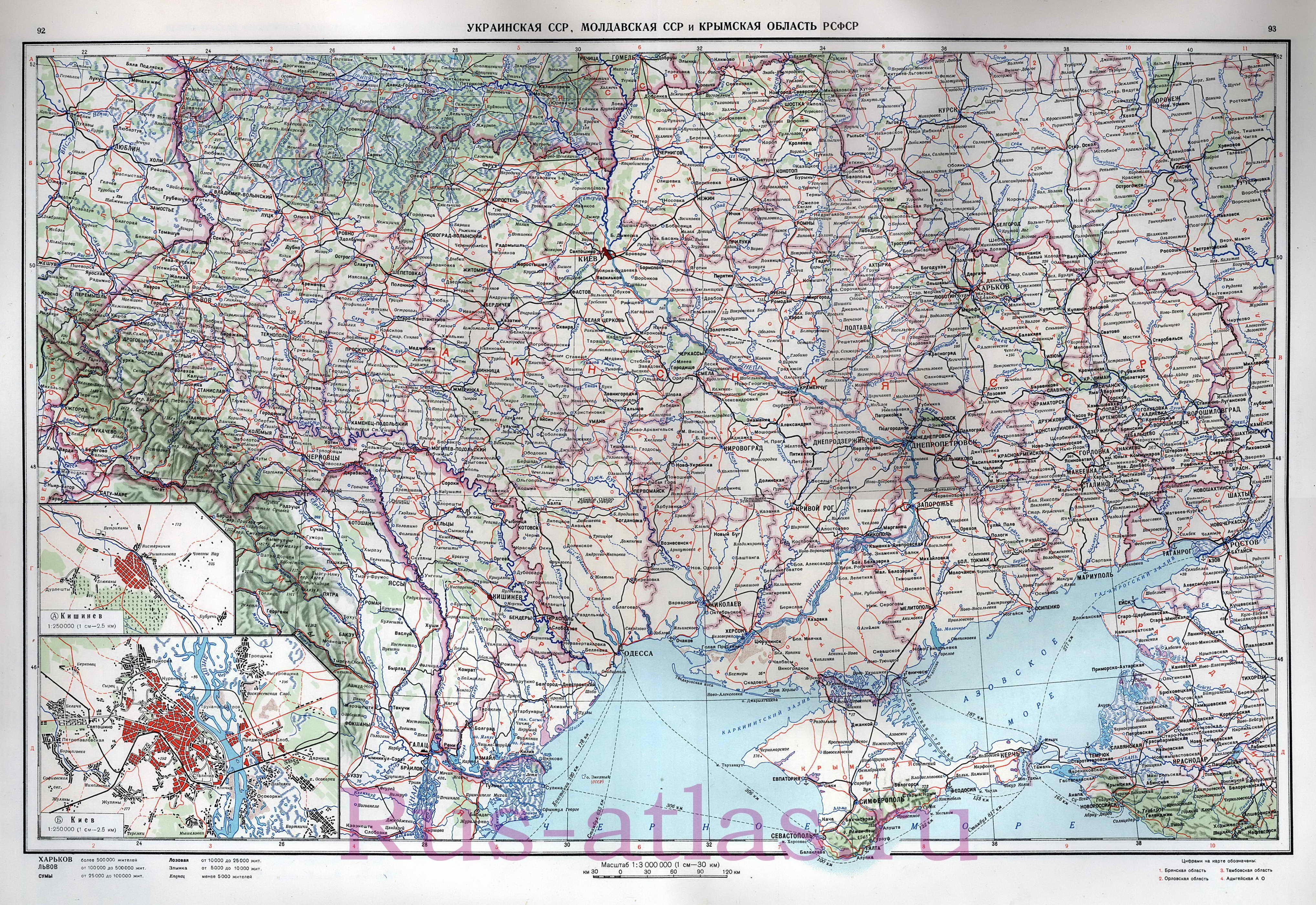Карта Украины физическая. Подробная физическая карта ...: http://map1.com.ua/map938975_0_0.htm