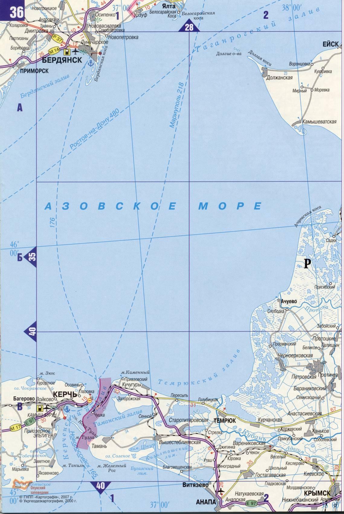 Электронную Карту Киевской Области